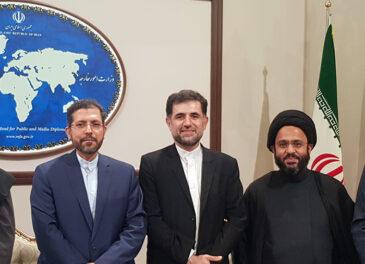 دیدار جمعی از مدیران بنیاد تکریم با سخنگوی وزارت امور خارجه