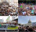 تظاهرات جهانی میلیونی علیه سیاست دولتها در قبال تغییرات اقلیمی