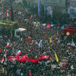 بازتاب حضور میلیونی مردم در مراسم تشییع سردار سلیمانی در رسانههای خارجی
